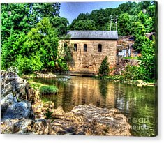 Powerhouse Acrylic Print