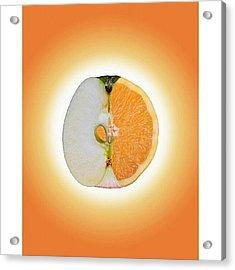 Äppelsin #tweegram #igers #instamood Acrylic Print