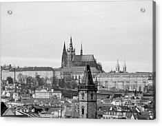 Prague - City Of A Hundred Spires Acrylic Print by Christine Till