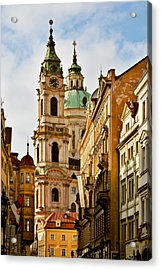 Prague - St. Nicholas Church Lesser Town Acrylic Print