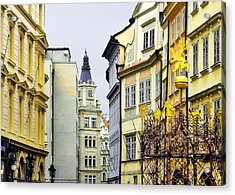 Prague - Walking In The Footsteps Of Kings Acrylic Print by Christine Till