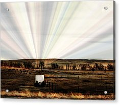 Acrylic Print featuring the photograph Prairie by Clarice  Lakota