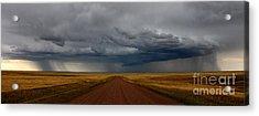 Prairie Storm In Canada Acrylic Print