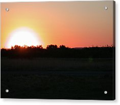 Prairie Sun Acrylic Print