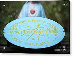 Acrylic Print featuring the photograph Pray No More Floods In New Orleans by Luana K Perez