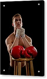 Praying Boxer Acrylic Print