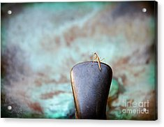 Praying For Water 2 Acrylic Print by Andee Design