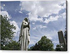 Praying In The Sky.02 Acrylic Print by John Turek