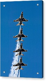 Acrylic Print featuring the photograph Precision by Dan Wells