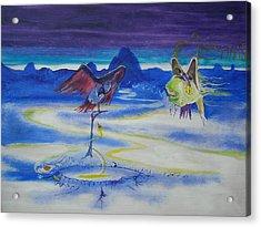 Predatory Deception Acrylic Print by Christophe Ennis