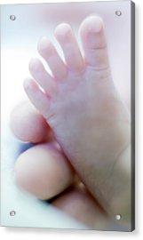 Premature Baby's Foot Acrylic Print
