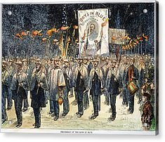 Pres. Campaign, 1876 Acrylic Print by Granger