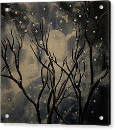 Prescott Snow Storm Acrylic Print