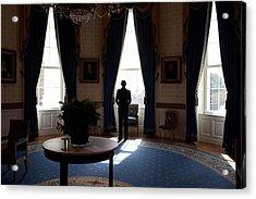 President Barack Obama The Day Acrylic Print by Everett