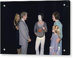 President Jimmy Carter Rosalynn Carter Acrylic Print by Everett