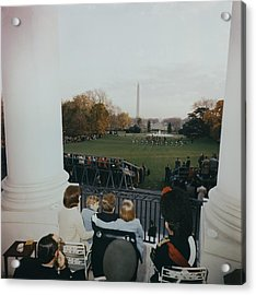 President Kennedy And His Family Watch Acrylic Print by Everett