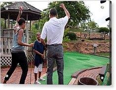 President Michelle Obama React Acrylic Print