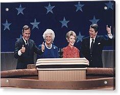 President Reagan Nancy Reagan Acrylic Print by Everett