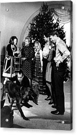 President Richard Nixon And Family Acrylic Print by Everett