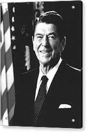 President Ronald Reagan, 1981 Acrylic Print by Everett