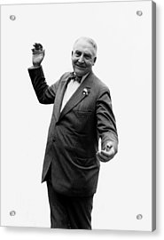 Acrylic Print featuring the photograph President Warren G Harding - C 1920 by International  Images