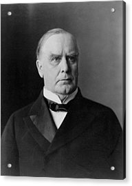 President William Mckinley Acrylic Print by International  Images