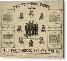 Presidential Election, 1876 Acrylic Print by Granger