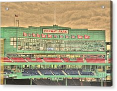 Press Box 2 Acrylic Print by Jonathan Harper