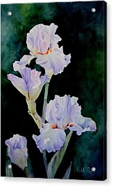 Pretty In Purple Acrylic Print by Bobbi Price