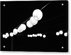 Pretty Little Lights Acrylic Print by Emily Smith