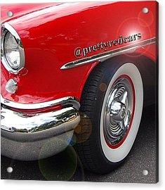 Prettyredcars Acrylic Print