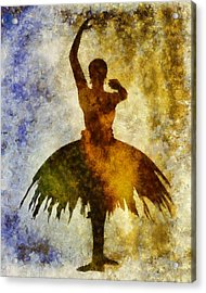 Prima 1 Acrylic Print by Angelina Vick