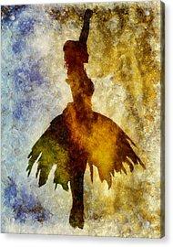 Prima 2 Acrylic Print by Angelina Vick
