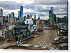 Primary Colors Of Melbourne Acrylic Print