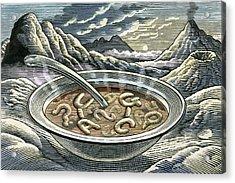 Primordial Soup Acrylic Print by Bill Sanderson