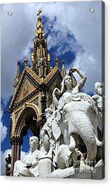 Prince Albert Memorial London Acrylic Print by Sophie Vigneault