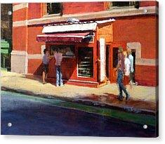 Prince Street Coffee Acrylic Print