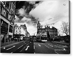 Princes Street Edinburgh Scotland Acrylic Print by Joe Fox