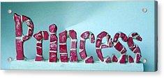 Princess Acrylic Print by Cynthia Amaral