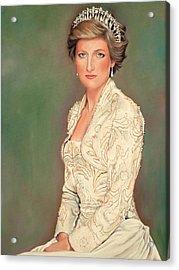 Princess Diana Acrylic Print by Douglas Fincham