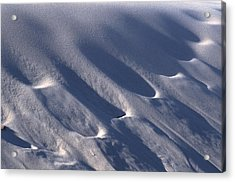Prints In Sand Acrylic Print by John Foxx
