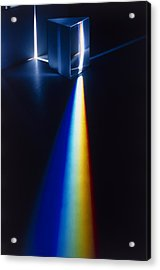 Prism Splitting Light Acrylic Print