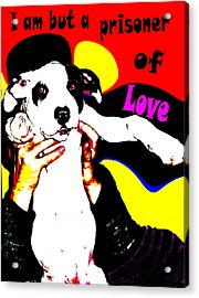 Acrylic Print featuring the painting Prisoner Of Love by Jann Paxton