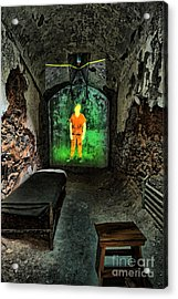 Prisoner Of The Soul Acrylic Print by Andrew Paranavitana