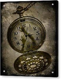 Prisoner Of Time Acrylic Print by Marie  Gale