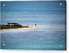 Private Island Acrylic Print