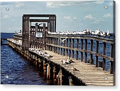 Private Pier Acrylic Print