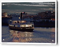 Privileged Vessel Acrylic Print by Richard Bean