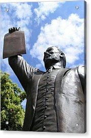 Proclamation Of Emancipation Acrylic Print by Sarah Broadmeadow-Thomas