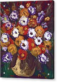 Profusion Of Blooms Acrylic Print
